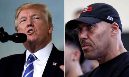Donald Trump Reignites the Beef with Lavar Ball