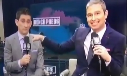 """NFL Network Analyst Accidentally Says Player Had a """"Bulging D*ck"""""""