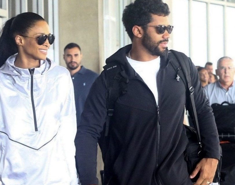 Russell Wilson and Ciara Touch Down in Rio de Janeiro