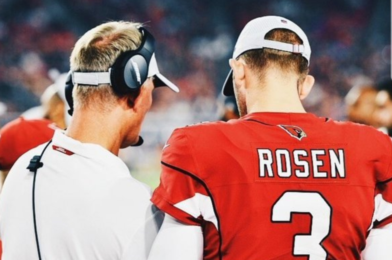 6c58624a Josh Rosen's Instagram Account Gets Scrubbed of all Things Cardinals ...