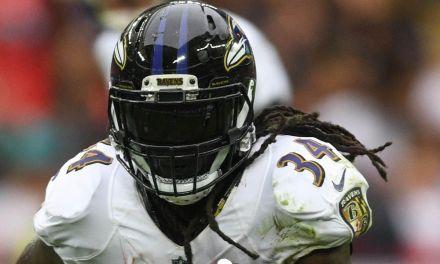 Ravens RB Alex Collins Arrested after Crashing Car Near Team Facility