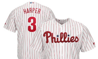 online store 7a881 da123 Bryce Harper's Jersey Launch Broke the Record for the Best ...