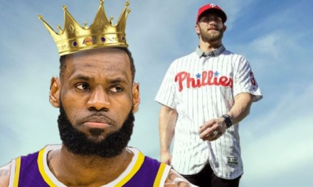 Bryce Harper Tops LeBron's Jersey Record