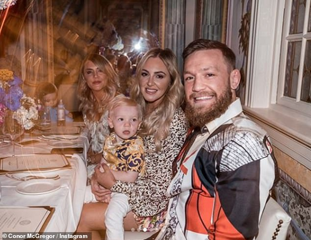 Conor McGregor Throws His Mother a 60th Birthday Party at Versace Mansion in Miami