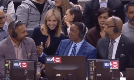 Isiah Thomas Tries to Get Grant Hill into Trouble with His Wife