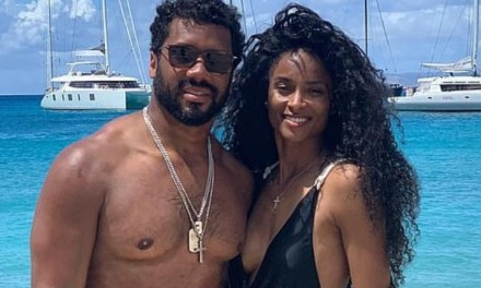 Ciara and Russell Wilson Take Their Love to St. Barts