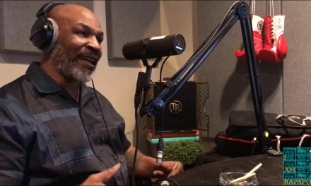 Mike Tyson Gets Choked Up When Speaking About Muhammad Ali