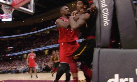 Serge Ibaka and Marquese Chriss were Ejected for Throwing Punches in Cleveland