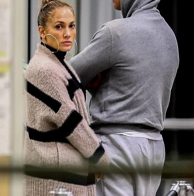 Jennifer Lopez and Alex Rodriguez Arrive in Florida After Getting Engaged in Bahamas