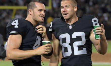 Raiders Release WR Jordy Nelson After One Season