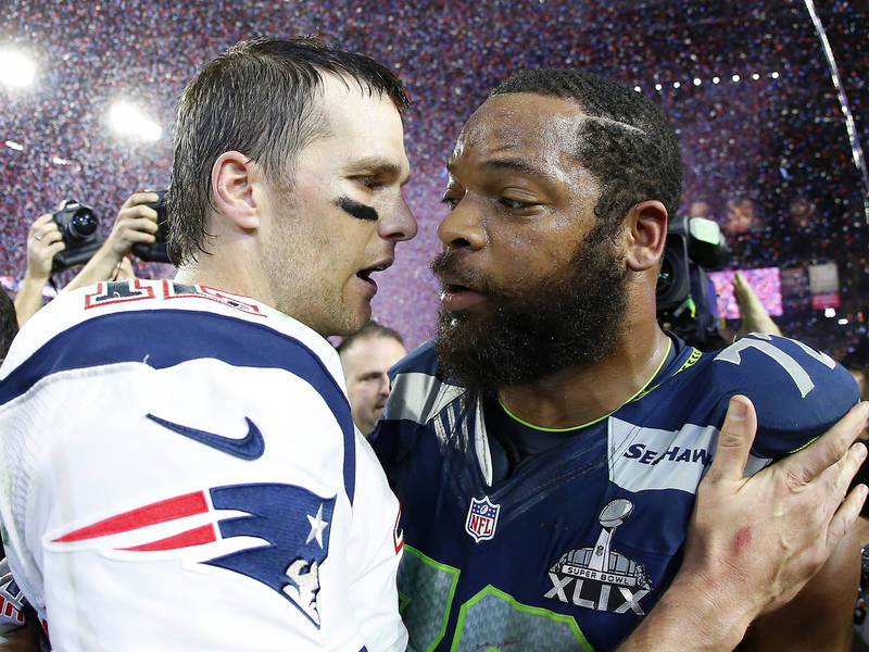 """Michael Bennett Used """"Star Wars"""" References in His Announcement About Becoming a Patriot"""