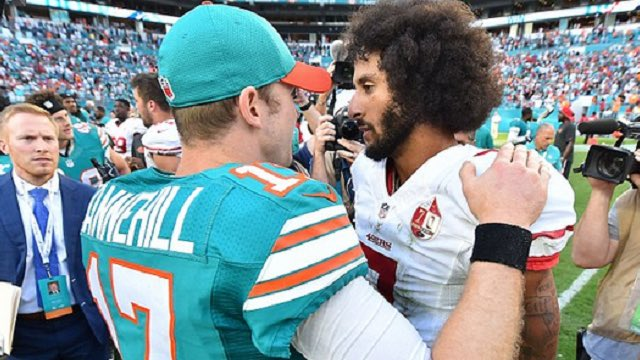 Colin Kaepernick is Interested in Joining the Miami Dolphins