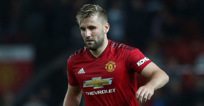 Girlfriend Told Luke Shaw That Ole Got The Job As Man Utd