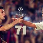 Messi chased another Landmark