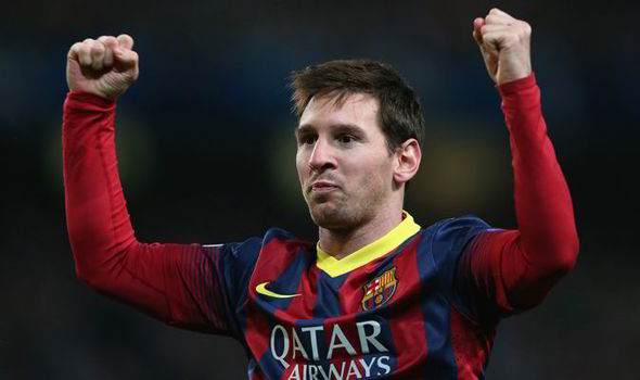 Messi surpasses Raul's Record