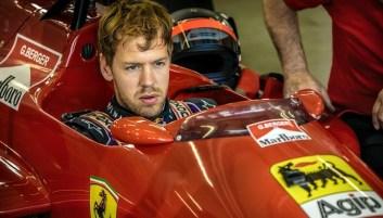 Sebastian Vettel at Ferrari