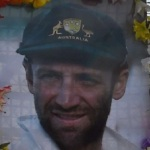 Final farewell to Phillip Hughes as Clarke pays moving tribute