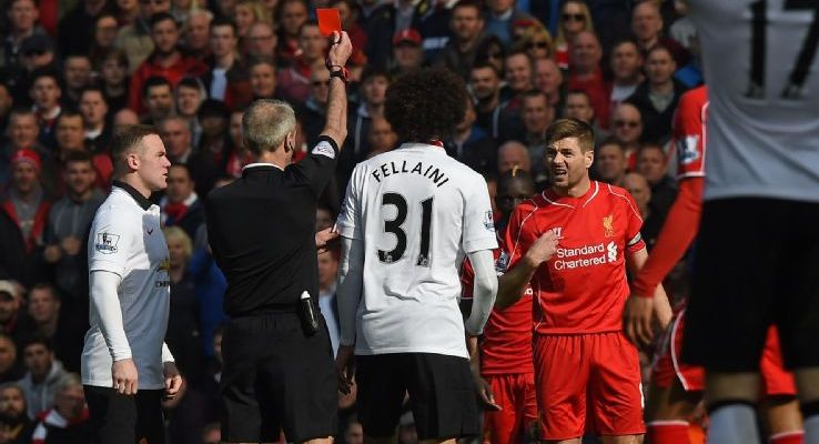 Steven Gerrard apologizes for his reckless challenge