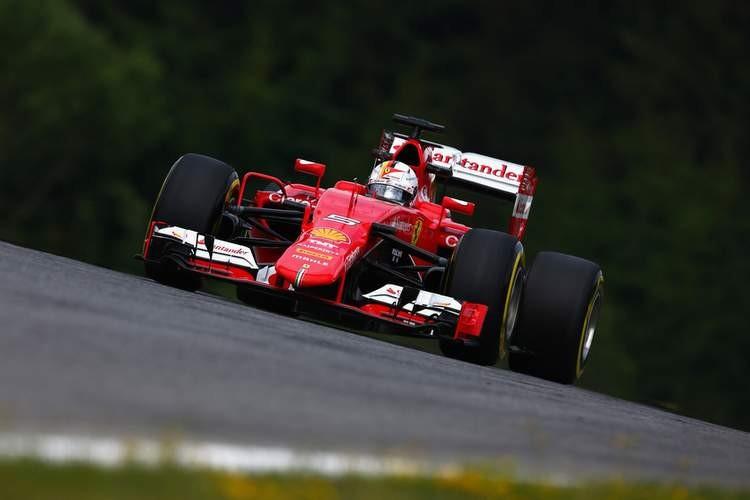 Austrian Grand Prix PF2:  Vettel beats Roseberg this time.