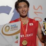 Kento Momota wins Indonesia Open