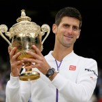 Novak Djokovic held the glory