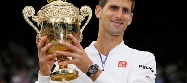 Novak Djokovic beats Roger Federer