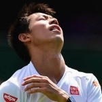 Nishikori quits from Wimbledon 2015