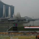 Haze over Singapore Grand Prix 2015