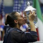 Flavia Pennetta wins US Open women's title