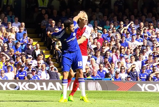 Diego Costa penalized by FA