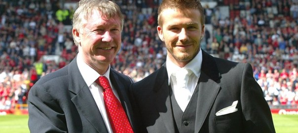 Beckham will play a charity match for his former manager Sir Alex Ferguson