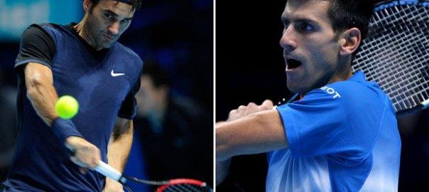Federer Takes down Djokovic