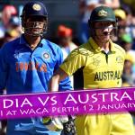 Perth story: India vs. Australia 1st ODI