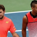 NICK Kyrgios retired from Dubai Tennis Championship with the back injury