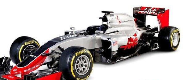 Haas new design for 2016 campaign