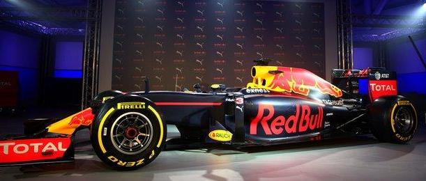 Red Bull new design for 2016 campaign