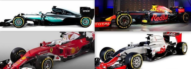 Formula 1 new cars designs for 2016 campaign