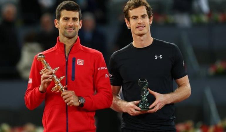 Novak beats Murray in Madrid Open final