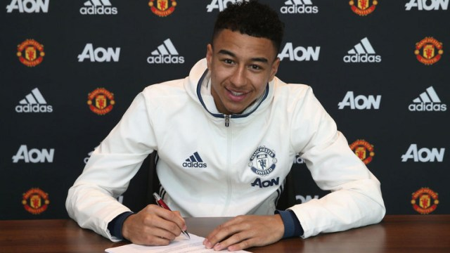 Done Deal: Jesse Lingard pens down a new deal with Manchester United