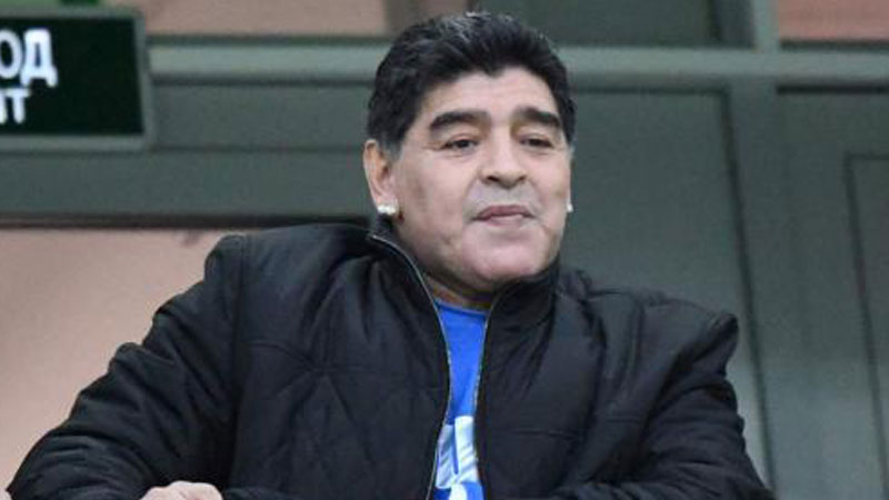 World Cup 2018:  Diego Maradona apologises over robbery comments