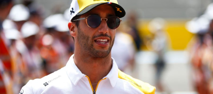 Ricciardo called it quit at Renault before turning a wheel in anger this year