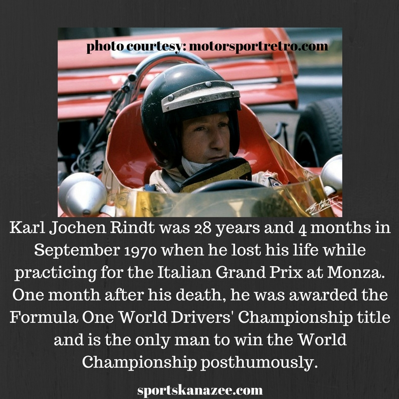 World Champion after the death