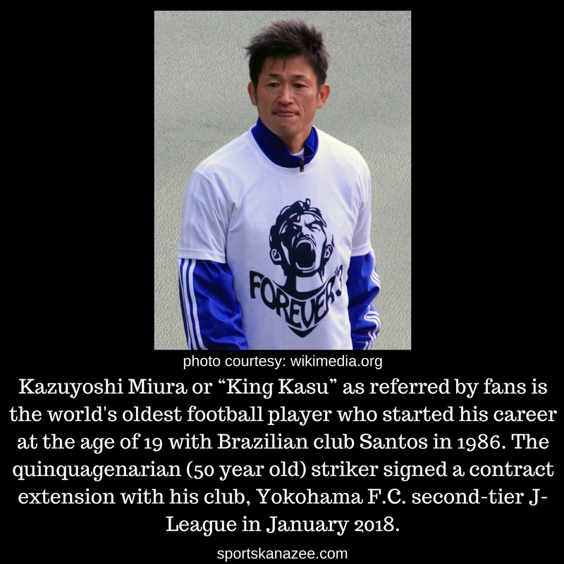 World's Oldest Soccer Player