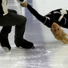 Engaged figure skaters on life on and off the ice