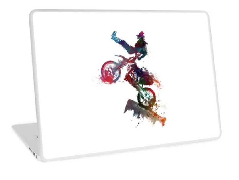 RedBubble-Motorsport-laptop-skin