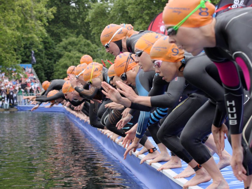 Jo Gunston photography World Series Triathlon London 2014