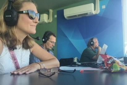Lizzy Ammon cricket journalist
