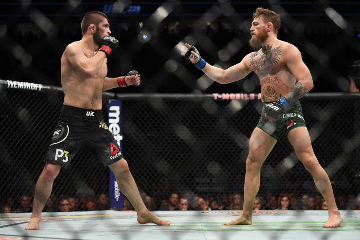 Khabib vs Connor at UFC 229