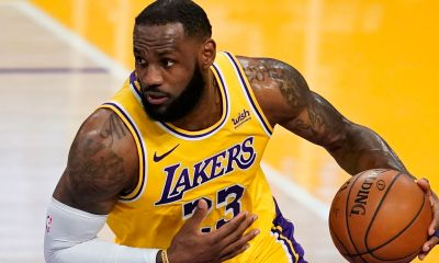 Lebron repping lakers