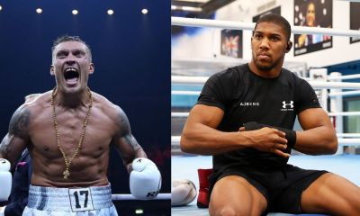 Anthony Joshua could face former cruiserweight champion Oleksandr Usyk, who is in title contention by virtue of his championship win in the cruiserweight division, is a mandatory title challenger for Joshua's belt.